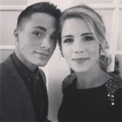 @emilybett: Hello New York @coltonlhaynes #upfronts #CW [x]