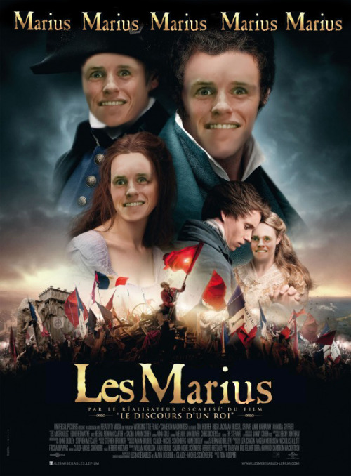 smileyfacewinkwink:  Who doesn't love Marius?