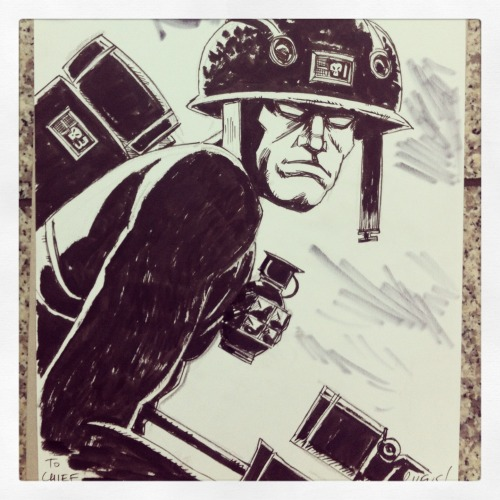 ROGUE TROOPER COMMISSION done at London Super Comic Con. XXX Ruf - Team SGDM
