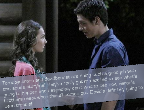 gleerpconfessions:  Tomboysarahp (Lexi Ainsworth FC) and davidbennet (Christian Alexander FC) are doing such a good job with this abuse storyline! They've really got me excited to see what's going to happen and I especially can't wait to see how Sarah's brothers react when this all comes out. David's definitely going to be in trouble!