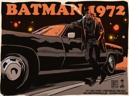 xombiedirge:  Batman 1972 by Francesco Francavilla / Blog / Store