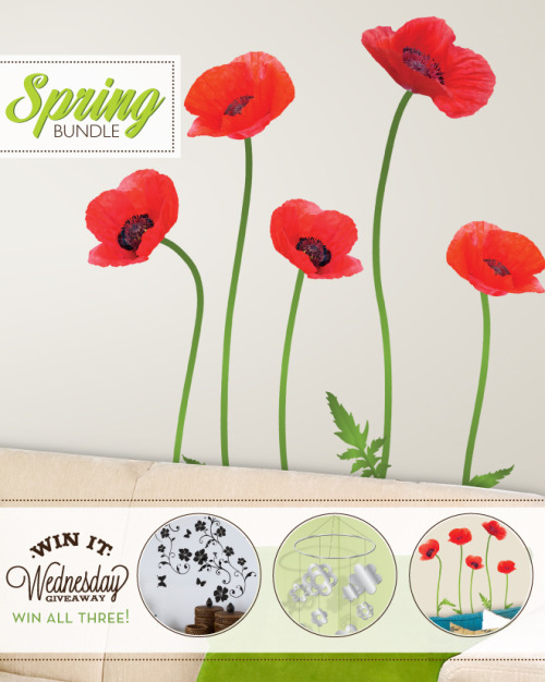 Win It Wednesday - Spring Decor Bundle This week we are giving away a spring inspired bundle of room decor valued at $85! Hop over to the blog and tell us what you love about Spring to be entered to win our Spring Bundle!  Good Luck!