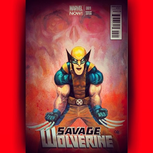 Another #SavageWolverine #Variant #Marvel #Comics #MarvelNow #XMen #Avengers #SNIKT
