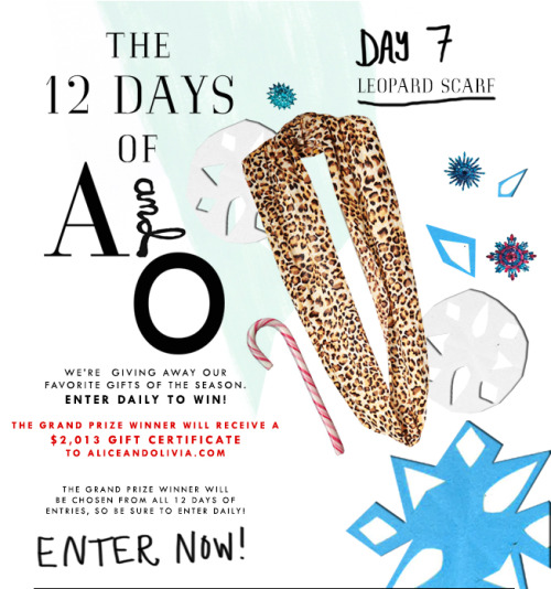 Day 7 of @alice_olivia's #12DaysofXmas #enterhere