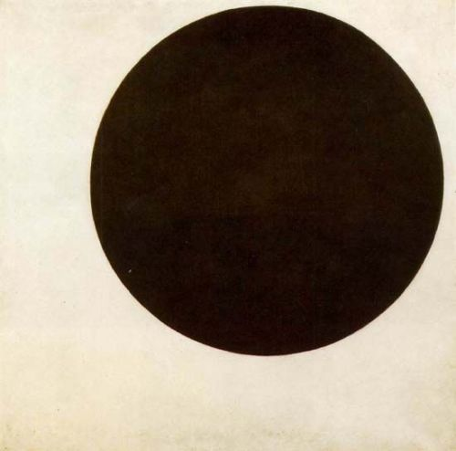 jaguarsvisionboard:  Kazimir Malevich, Black Circle, 1915, oil on canvas.  State Russian Museum, St. Petersburg
