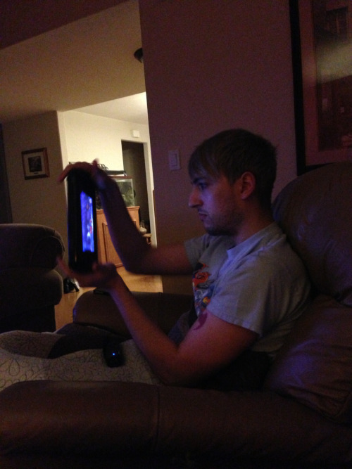 My boyfriend being perfect at Wii U