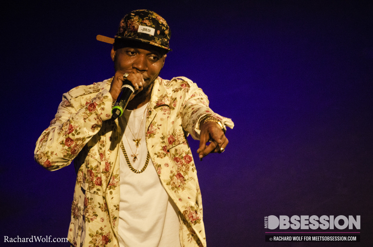 rachardwolf:  Curren$y at The Howard Theater 5/11/13 —Rachard Wolf Photography