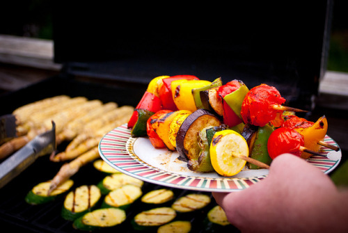 almondmilkk:  Vegan BBQ Grill'd Vegetable Sticks