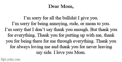 missdiior:  I love you, Mom <3