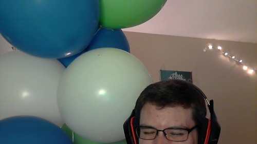 Seven whole balloons and they are bigger than my HEAD.
