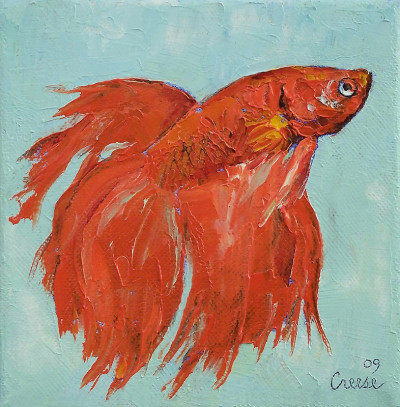 "creese:  Michael Creese, ""Siamese Fighting Fish"" (2009)"