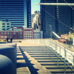 """My other other Lunch Spot: Pier 15"" #SouthStreetSeaport #SouthStreet #Pier15 #Waterfront #Buildings #made_in_ny #NYC #NewYork #NewYorkCity #UrbanLandscape #UrbanDwellings #abrooklynsoul #explore_nyc #explore_community #explore_manhattan #Shade #Shadows #CoolBreeze #LowerManhattan #Downtown  (at Pier 15)"