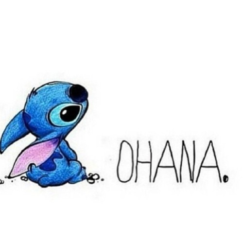 Today's background. #disney #iphone #stitch #ohana ...