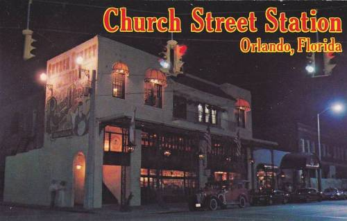 oldflorida:  Let the Good Times Roll! Rosie O'Grady's Goodtime Emporium Church Street Station Downtown Orlando