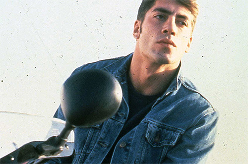 "Javier Bardem as Raul in ""Jamon Jamon"" (1992)."