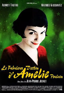 Amelie is a french film about a young girl who who's motivation in life is to help people and she finds love along the way. I didn't really enjoy this film I felt it was too cute and girly for my liking. The genres that this film fits into is Comedy and romance. The film fits into romance perfectly because Amelie finds love along the way of helping people. The comedy fits in because Amelies character is very comical with the things she says and does.