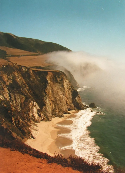 lamescapes:  California Cliff
