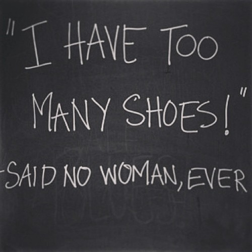 #sotrue #loveit #icanrelate #fashion #shoes #toomany #girlproblems #shopaholic 😉👠