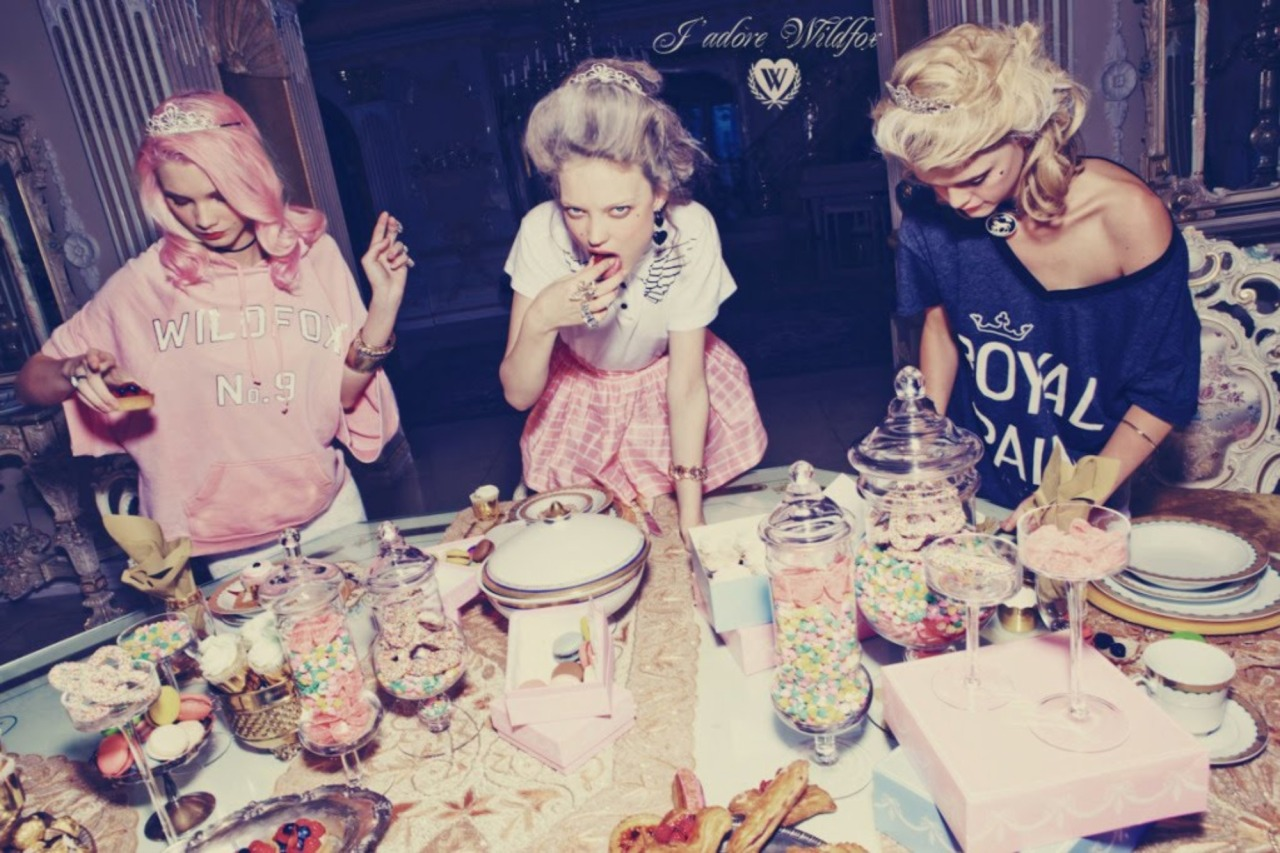 wildfox:  Resolution # 17 Eat more candy