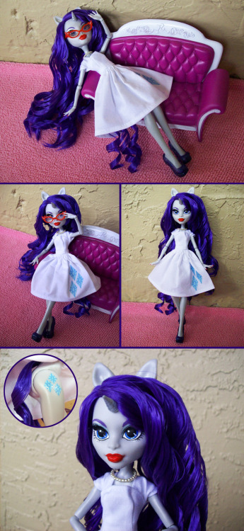 MH Rarity Custom by ~psaply Currently up on Ebay. Click the image to get auction info from the Deviant art page!