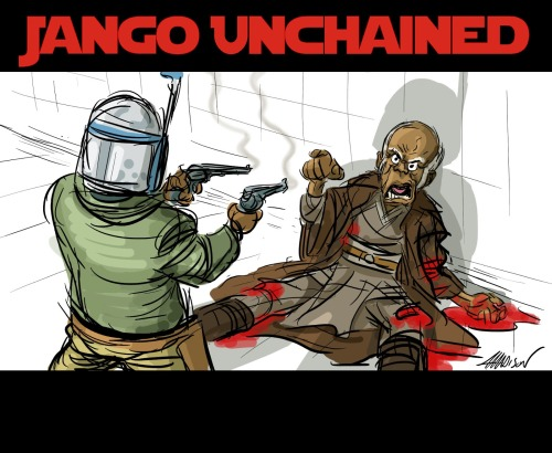 Jango Unchained by Austin Madison