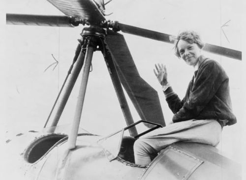 I didn't know, did you know®… That today in 1932 Amelia Earhart became the first women to complete a solo transatlantic flight in less than 15 hours.  Here is one of the PSA spots we assisted NWHM in bringing awareness about the movement in getting a women's history museum which benefits humanity.