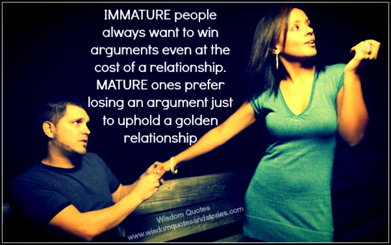 Just when you're about to argue.. Think about this :) – View on Path.
