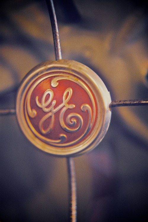 General Electric. Shot with my Pentax K1000, using Fuji Pro 400H.