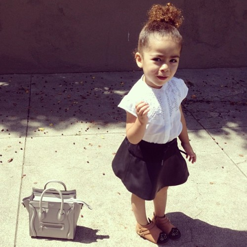 encantamoda:  visualvixen:  Alaia Rose   so cute