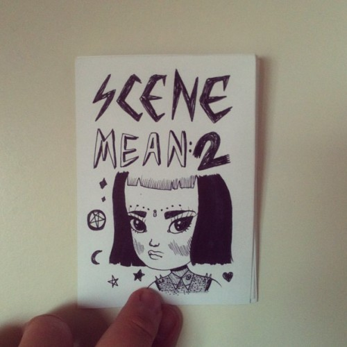 melstringer:  This is coming out soon! Scene Mean 2. A collection of observatory drawings. ⭐💛💜💖