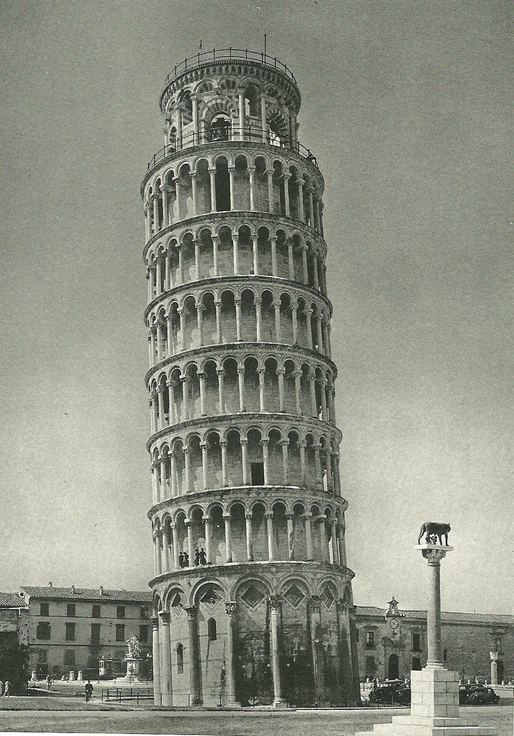 Tower of Pisa, Italy National Geographic | March 1940
