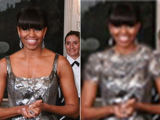 "Furious Iran photoshops Michelle Obama's dress as it decries First Lady's presentation of Argo OscarMichelle Obama's virtual appearance at the Oscars has angered not just conservative critics but one of America's greatest foes — Iran.Last year Iran celebrated its first Oscar for the film A Separation. But this year, the country's media decried the choice of Argo for Best Picture and director Ben Affleck's comment in his acceptance speech that people in Iran are living in ""terrible circumstances.""It didn't help that the First Lady opened the envelope.""In a rare occasion in Oscar history, the First Lady announced the winner for Best Picture for the anti-Iran Film Argo, which is produced by the Zionist company Warner Bros,"" Fars News said, revealing what they really think about the powers that be in Washington and Hollywood. (ROBYN BECK/AFP/Getty Images // FARS)"