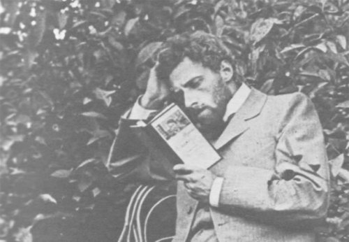 Vsevolod Meyerhold preparing for his role as Konstantin in Chekhov's The Seagull (via Idea | The Seagull's Two Premieres | Headlong)