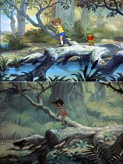 Disney Animation Reused?This is crazy..!