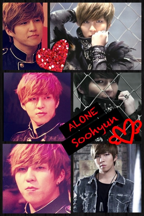 idobelieveinukiss:  Alone Soohyun collage ( ´ ▽ ` )ノ♡ I hope they keep and wear these outfits forever!!!!!