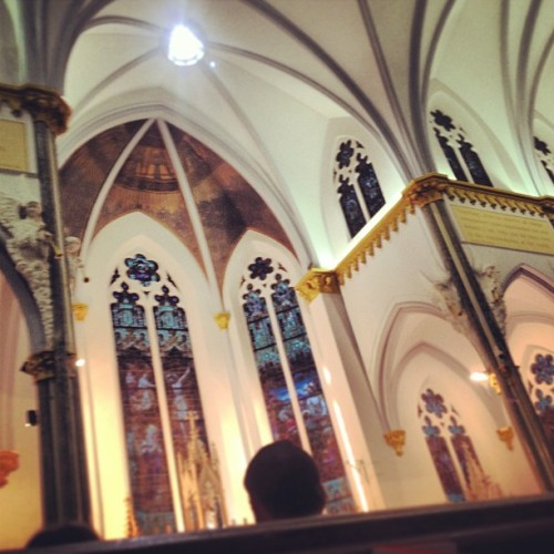 Heeeree we go… (at Immaculate Conception Catholic Church)