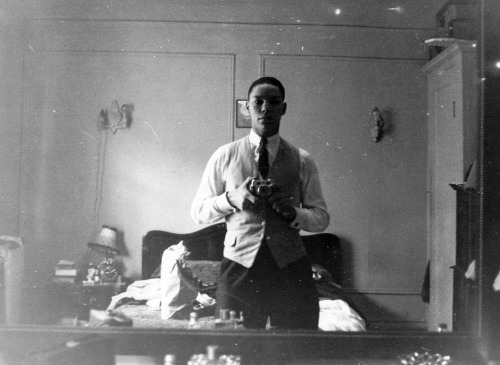 """A young Colin Powell would like some feedback on his outfit for the day. From his Facebook: """"Throwback Thursday – I was doing selfies 60 years before you Facebook folks. Eat your heart out Ellen!"""" (viavoxsart)"""