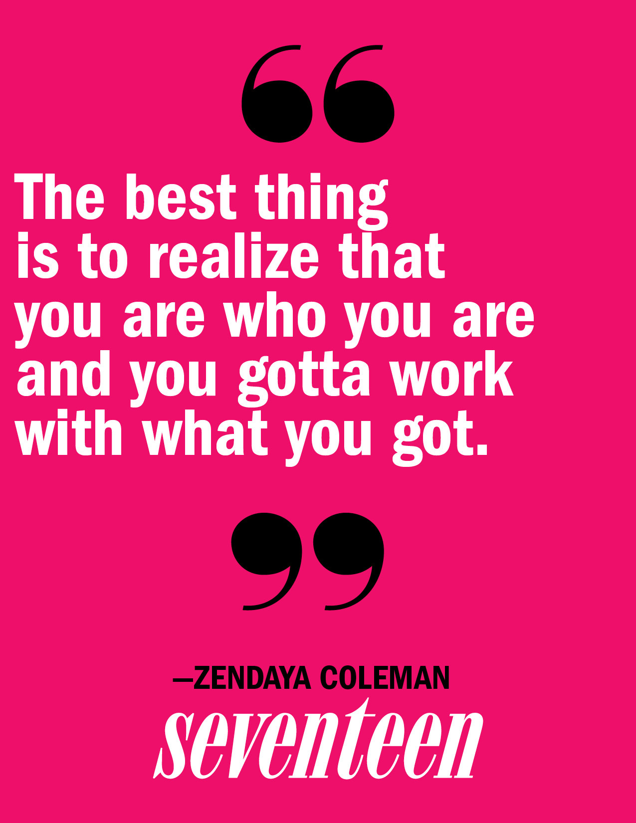 Read more from Zendaya, here.