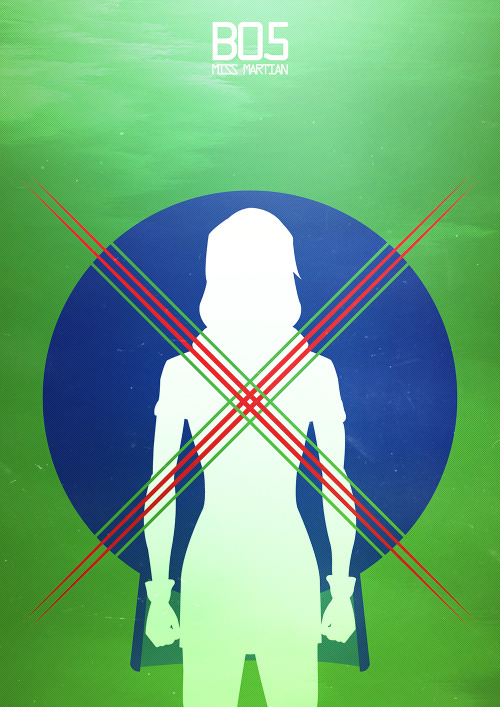 kazmet:  Young Justice Designation ↳ B05 Miss Martian