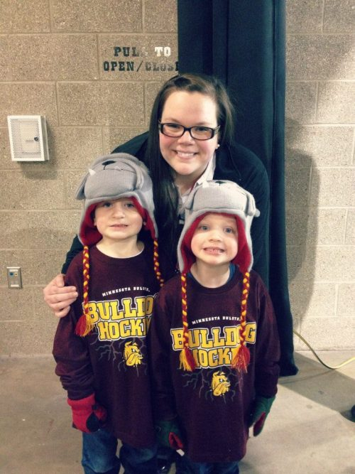my favorite little bulldogs and I.