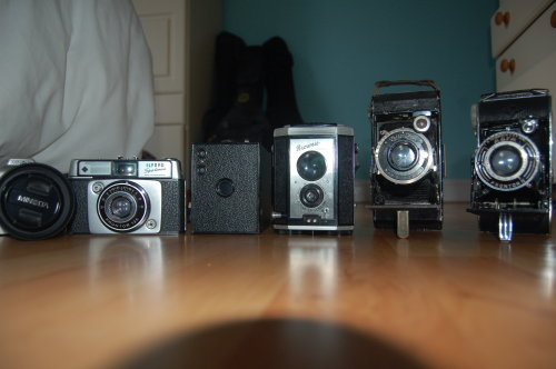 My camera collection (not including my Nikon)