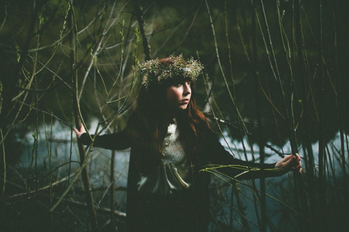 My forest goddess. See more. Via Jamie Jones Photography.