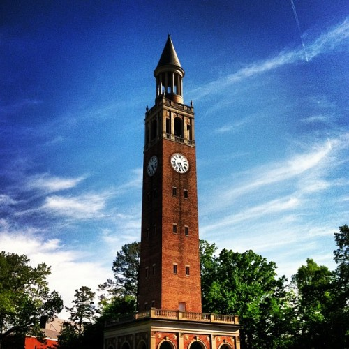 erinmaddie:  Today is the definition of perfect. #unc #belltower