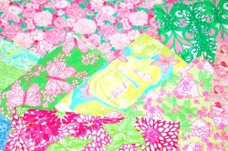 RIP Lilly Pulitzer:  From the time I was a small child, I remember being in love with the bright, crazy patterns of designer Lilly Pulitzer.  Reading People and Interview, and seeing the Kennedy women and high society in these bright colors really brought joy to me.  I still enjoy a bold pattern, and thank God the brand was revived.  I have Lilly Pulitzer file folders, stationary, ect.  I cant wait until I can fit into a blazer, because that will be my reward for the hard work of losing weight.  Miss Pulitzer died on the anniversary of my Mom's passing, April 7th.  I can only hope that my Mom will pass on how much Miss Pulitzer meant to me when she runs into her up there!