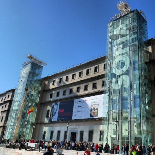 Museo Reina Sofía like a #boss - #museo #Contemporary #Art #Madrid #Dali #exhibition