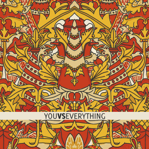 I did the Ep Artwork for the band You Vs Everything.Here's the front cover. youvseverything.bandcamp.com