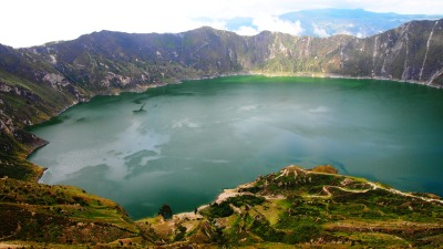 flashback-that-never-existed:  Laguna Quilotoa, Ecuador. 2013