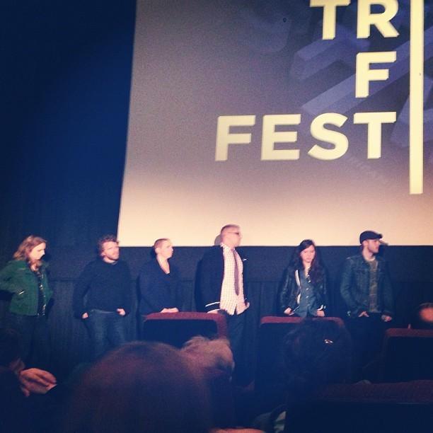 #oxyana @seanveryape @kathygatto @hillaryspera helluva great job guys!! Congrats! (at tribeca film festival)