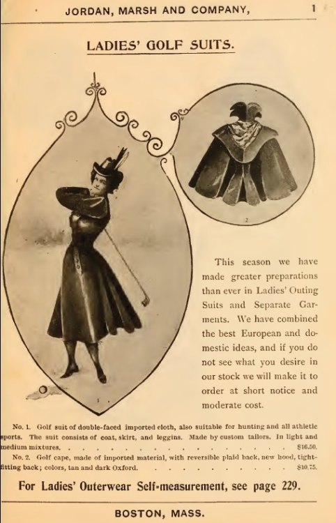 ~ Jordan, Marsh & Co., Spring and Summer 1897