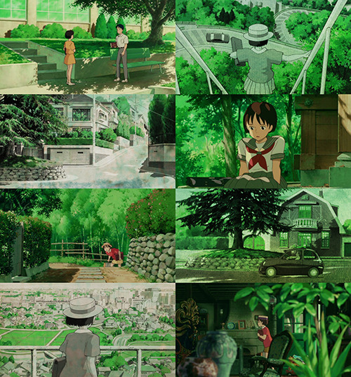 studio-ghibli-gifs:  whisper of the heart + green   suggested by gerud0-thief